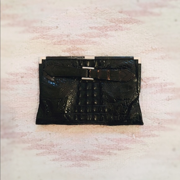 Vintage Handbags - Crocodile Clutch | Vintage